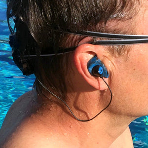 Custom waterproof earplugs for swimming