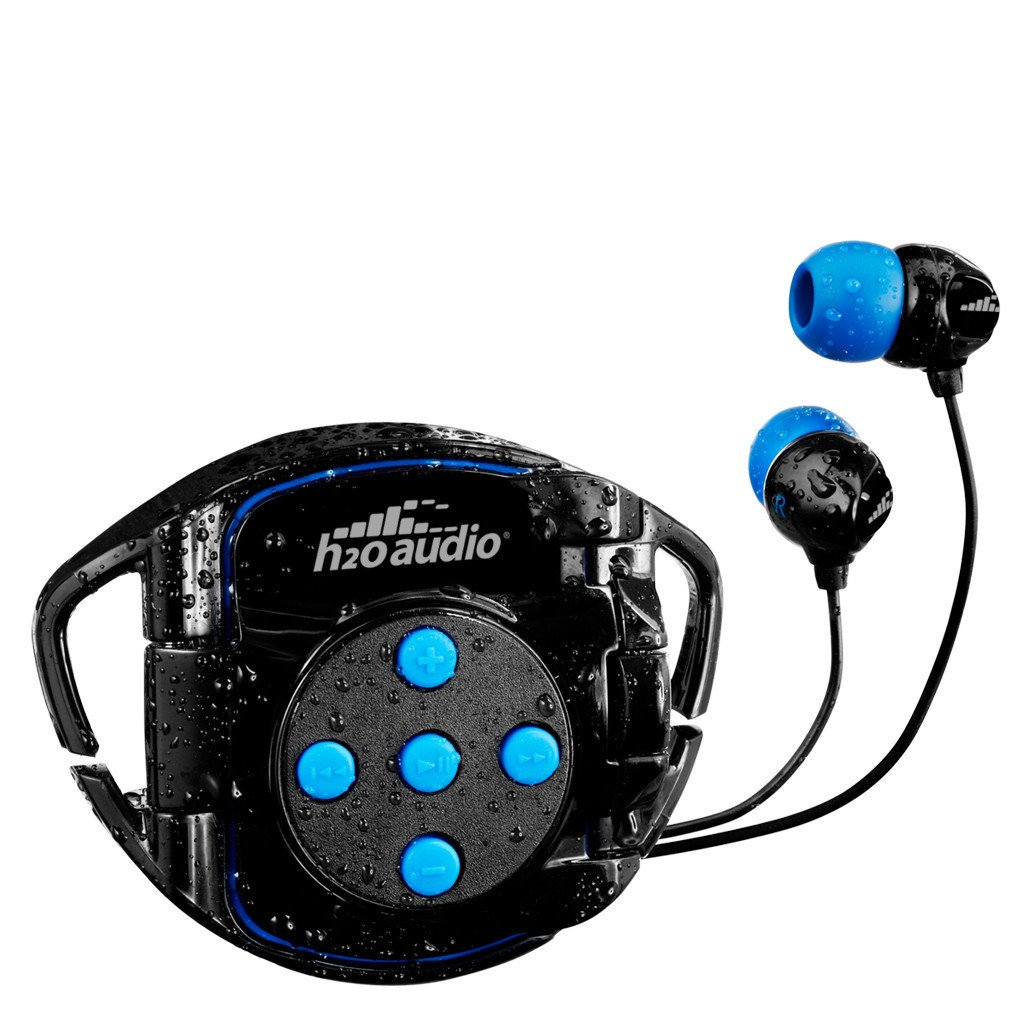 Waterproof Headphones With Ipod Shuffle Case H2o Audio