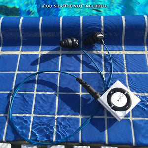 Waterproof iPod earbuds