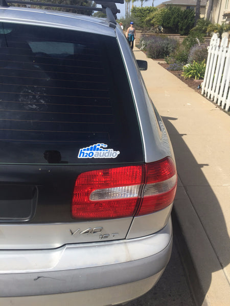 H2O Audio Sticker