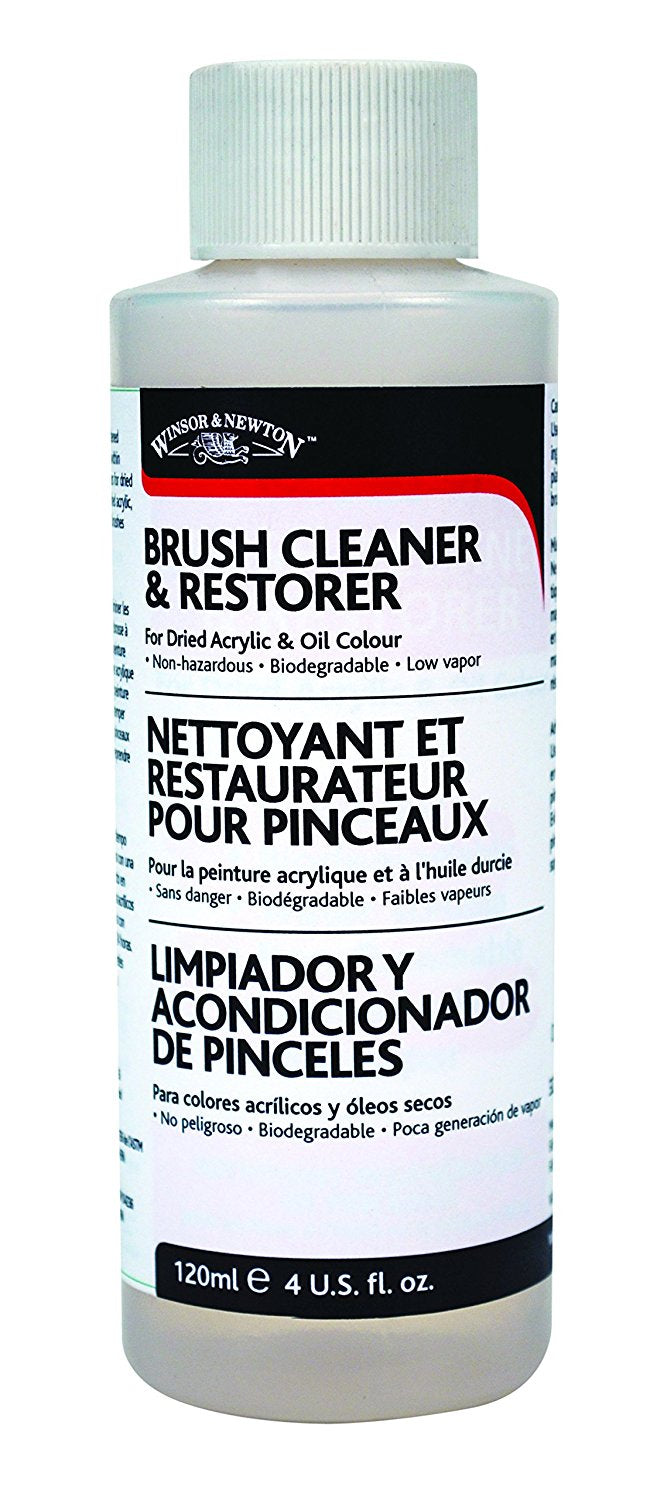 Winsor Newton Brush Cleaner And Restorer 4oz Judsons Art Outfitters