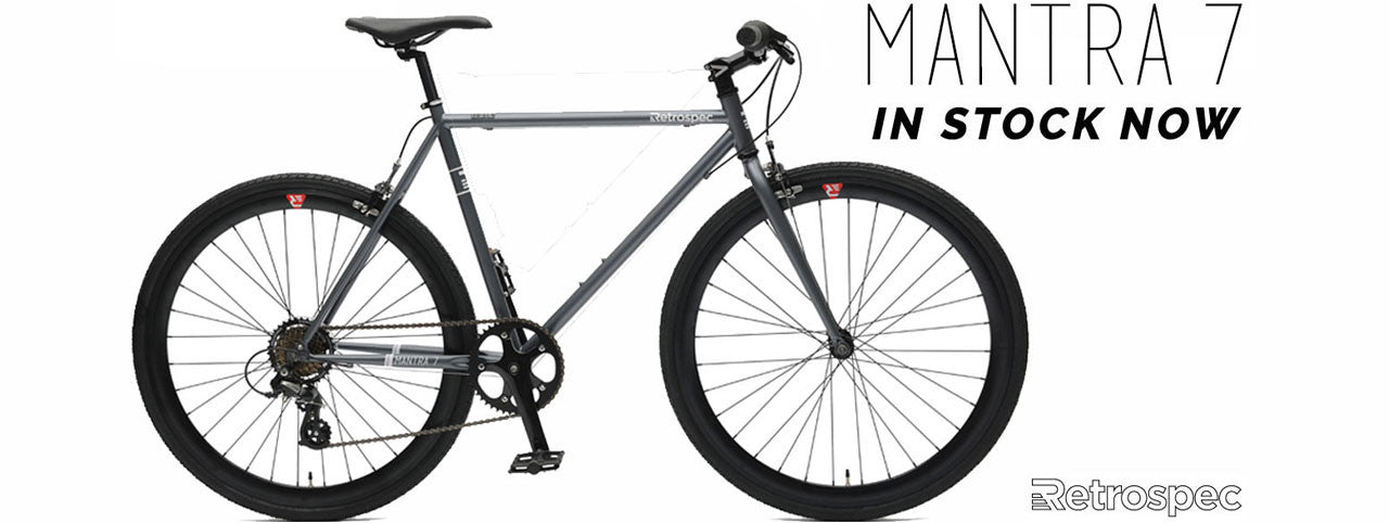 Mantra 7 Speed Fixie Style Bicycle
