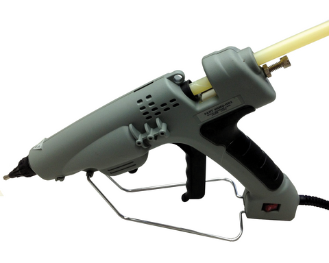"Heavy Duty Hot Melt Glue Gun, 300 watts for 1/2"" diameter glue sticks"