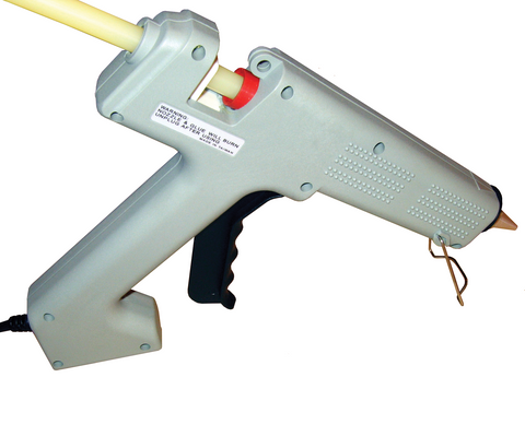 "Industrial Hot Melt Glue Gun, 100 watt for 1/2"" diameter glue sticks"