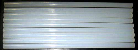 "Clear Glue Sticks GF16-12, 1/2"" diameter for Product Assembly 8 lb box"
