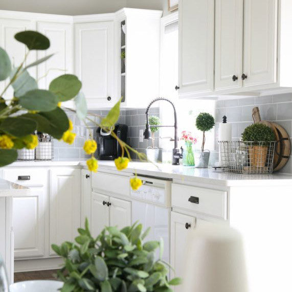 5 Collections that Bring White Cabinets to Life