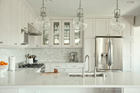 3 Kitchens With Cottage Bar Pulls Hickory Hardware