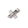 Frameless 0mm Polished Nickel Hinge Mounting Plate