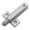Universal Soft Close Cabinet Door Dampener in Bright Nickel