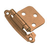 Surface Self-Closing Flush Hinge (2-Pack)