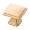 1-1/4 In. Square Bridges Cabinet Knob