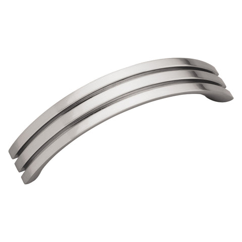96mm Axis Satin Nickel Cabinet Pull