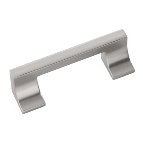 3 In. and 96mm Swoop Stainless Steel Cabinet Pull