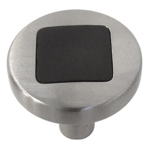 Satin Nickel with Black / regular
