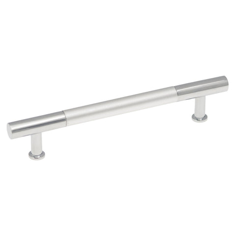 128mm Dew Frosted Chrome Cabinet Pull