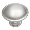 1-1/4 In. Tranquility Satin Silver Cloud Cabinet Knob