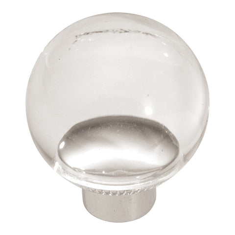 1-1/4 In. Midway Lucite Cabinet Knob
