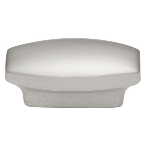 1 In. Metropolis Satin Nickel Cabinet Knob