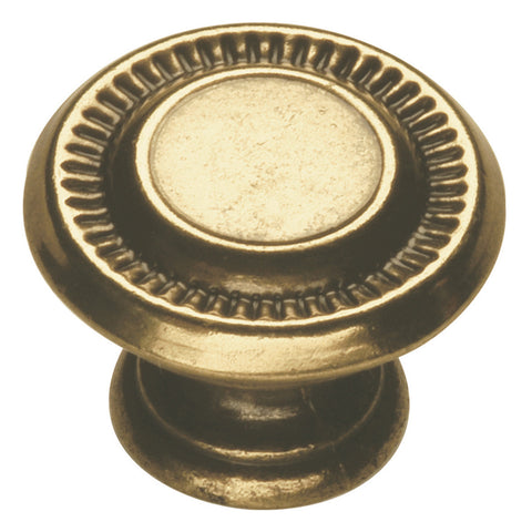 1 In. Manor House Lancaster Hand Polished Cabinet Knob