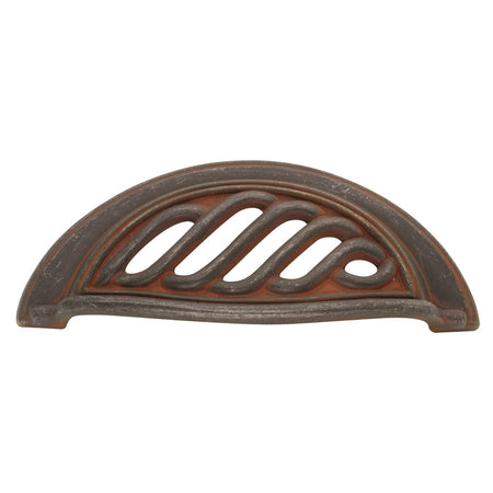 3 In. Charleston Blacksmith Cabinet Cup Pull