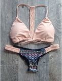 Coral Braided Bikini (Swim Suit) - Simply Paris Boutique