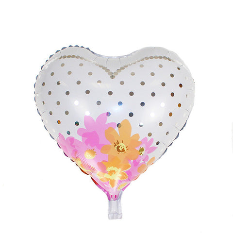 Bride Heart Shaped Foil Balloon
