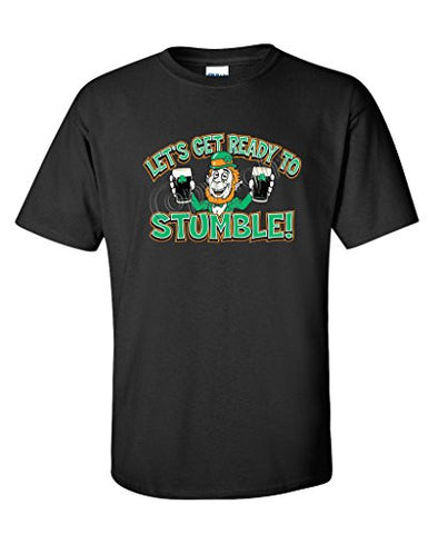 LET'S GET READY TO STUMBLE Irish St Patricks Day T-Shirt for Men