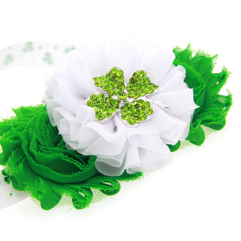 Flower Hairband for St. Patrick's Day