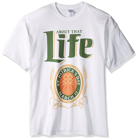 About That Life St Patrick's Day Men's T-Shirt