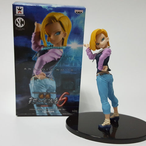 Android 18 Lazuli Standing Dragon Ball Z 180MM Action Figure