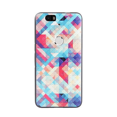 Colorful Woven Print Huawei Nexus 6P Back Cover Case