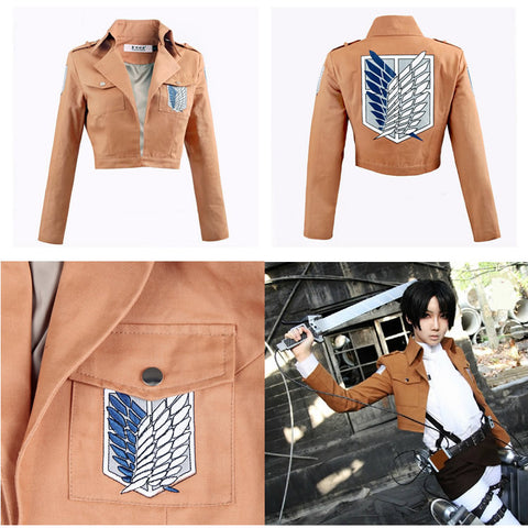 Attack on Titan Jacket Halloween Costume for Women and Men