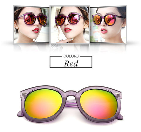 Layla Multicolor Mirror Sunglasses