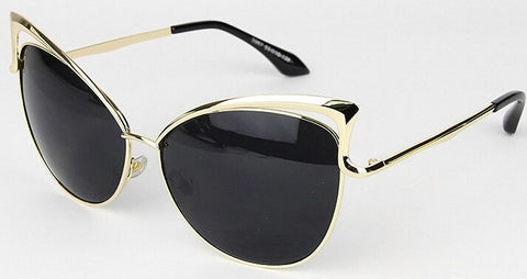Devone Cat Eye Metal Sunglasses (Women)