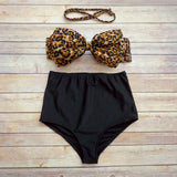 Isabelle High Waisted Bikini - Simply Paris Boutique