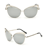 Devone Cat Eye Metal Sunglasses (Women) - Simply Paris Boutique