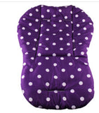Thick Colorful Polka Dot Baby Infant Car Seat