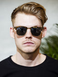 James Photochromic Square Sunglasses (Men)