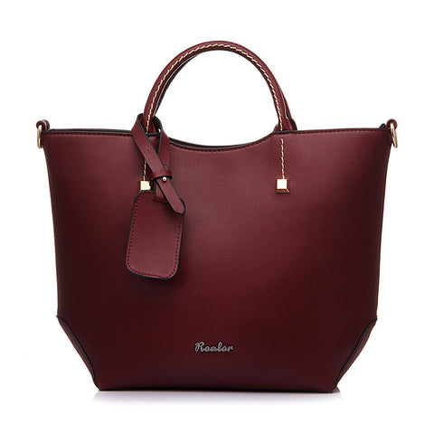 Catriona Leather Tote Bag - Simply Paris Boutique