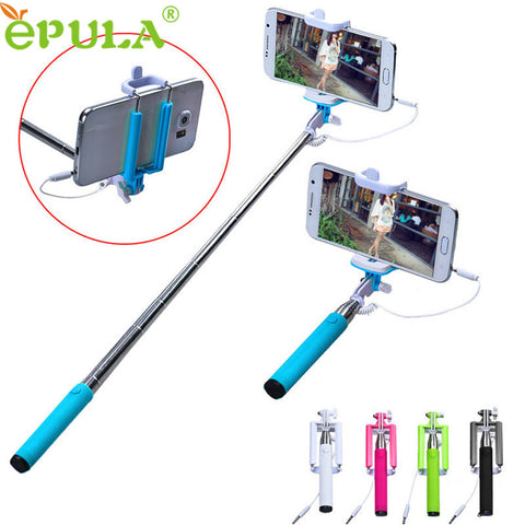 EPULA 15-50 cm Handheld Extendable Selfie Stick (iPhone & Android Phone) - Simply Paris Boutique