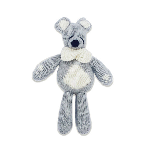 Bhalu the Bear, Fog Grey/Oatmeal
