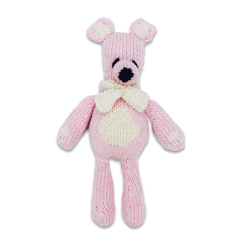 Bhalu the Bear, Petal Pink/Oatmeal
