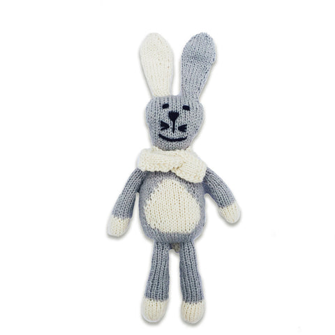 Ramro the Rabbit, Fog Grey/Oatmeal
