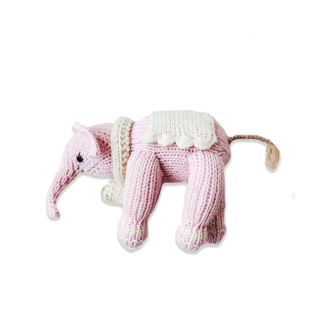 Hatti the Elephant, Petal Pink/Oatmeal