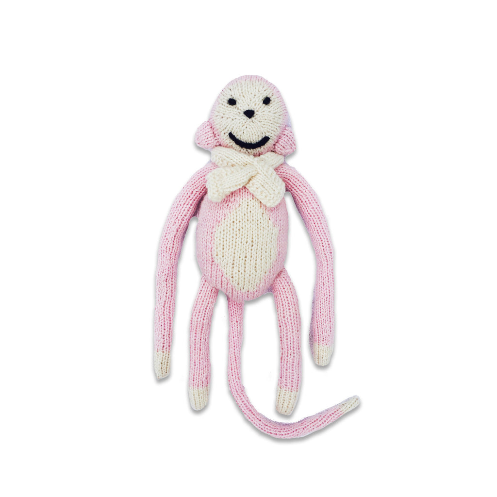 Chak Chak the Monkey, Petal Pink/Oatmeal