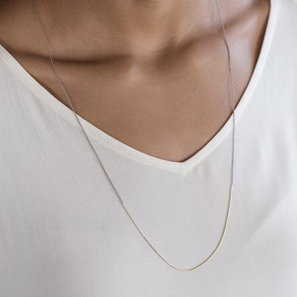 Dorado Necklace Grey