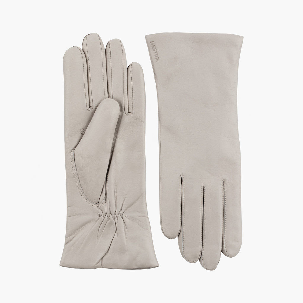 Elisabeth Gloves Natural Grey