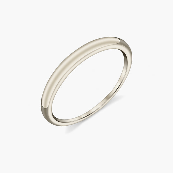 Eternal Tusk Ring White Gold