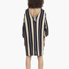Mira Tunic Dress Stripe BLK/WHT/MUS