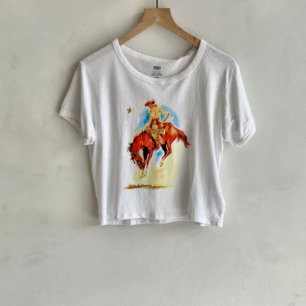 Graphic Ringer Surf Tee
